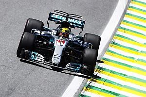 Formel 1 Trainingsbericht Formel 1 2017 in Brasilien: Streckenrekord für Lewis Hamilton