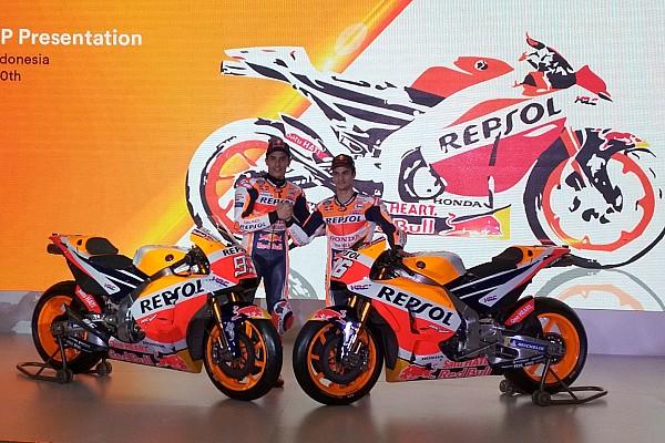MotoGP Новость Honda провела презентацию нового мотоцикла MotoGP