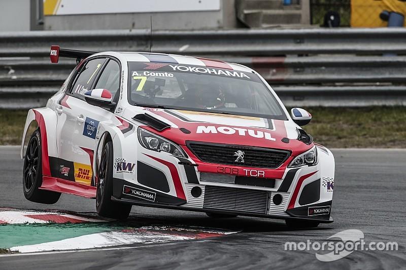 Comte da a Peugeot su primera victoria en el WTCR