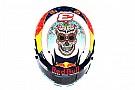 Galería: los cascos especiales de Pérez y Ricciardo en México