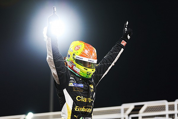 Formula V8 3.5 Race report Bahrain F3.5: Fittipaldi crowned champion, Chaves wins on debut