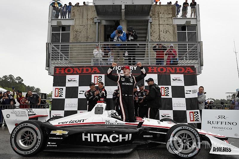 Barber IndyCar: Newgarden dominates in dry-wet race