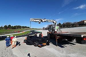 Формула 1 Новость Причиной замены мотора на машине McLaren стала турбина