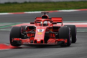 Formula 1 Testing report Vettel tops penultimate test day by over a second