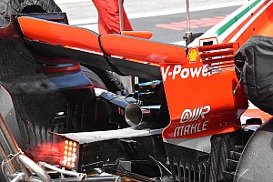Ferrari trials unique exhaust system
