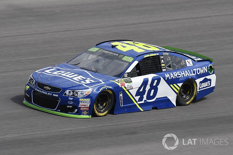 Hält Jimmie Johnson dem Playoff-Druck in Kansas stand?