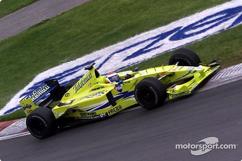 The car that almost propelled Minardi into extinction