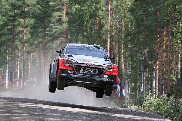 Awal yang solid bagi Hyundai Motorsport, Neuvillle bertahan di posisi ketiga ReliFinlandia
