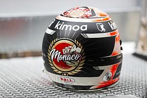 Формула 1 Самое интересное Казино и ретро: какие шлемы гонщики привезли в Монако