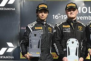 Lamborghini Super Trofeo Risultati Finale Mondiale PRO-AM: Piscopo e Proto comandano la classifica iridata