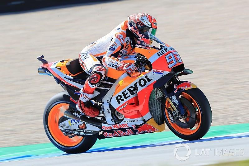 Assen MotoGP: Marquez tops FP1, Lorenzo crashes