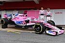 Force India presents its 2018 Formula 1 car