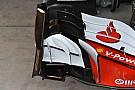 Ferrari: modificata anche l'ala anteriore di Vettel con un... ricciolo
