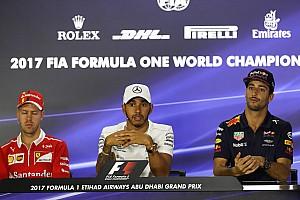 Formel 1 News Ricciardo: Hamilton war 2017