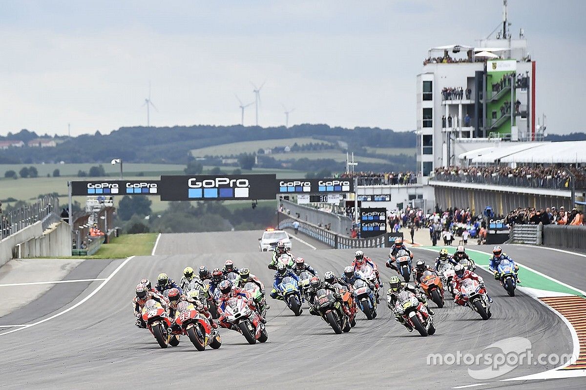 Horarios del GP de Alemania de MotoGP