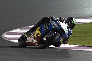 Moto2 Reporte de pruebas Morbidelli y Guevara lideran al cierre de un test pasado por agua