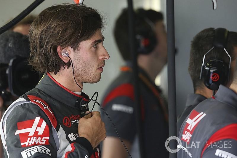 Giovinazzi faz 1º treino livre do GP de Cingapura pela Haas