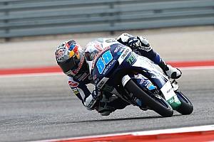 Moto3 Prove libere Jerez, Libere 3: bella zampata di Jorge Martin, ma gli italiani sono lì