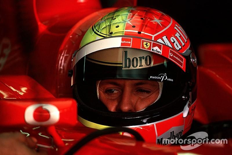 Жизнь в красном. Все шлемы Михаэля Шумахера в Формуле 1
