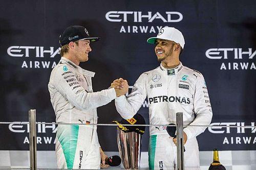 罗斯伯格VS汉密尔顿:F1最旷日持久的宿敌之战