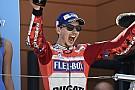 MotoGP Lorenzo feels first Ducati win now