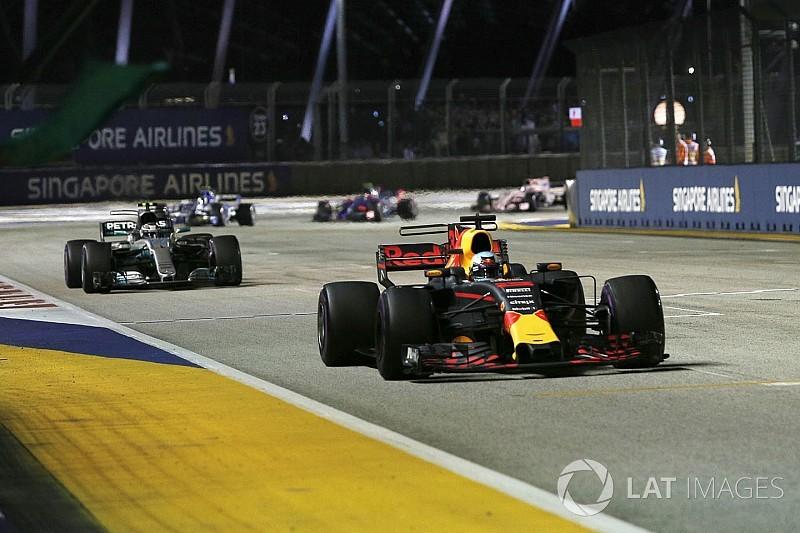 Ricciardo teve de fazer GP administrando falha no câmbio