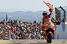 MotoGP Márquez apostó más de lo que tenía en Aragón