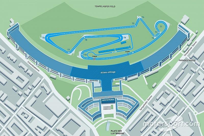 Le nouveau tracé de Berlin Tempelhof pour la Formule E dévoilé