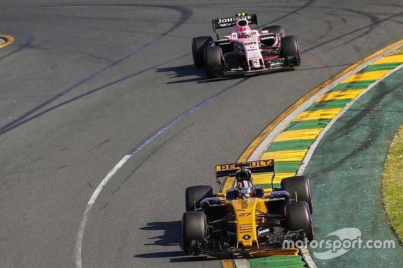 Les progrès rapides de Renault étonnent Force India