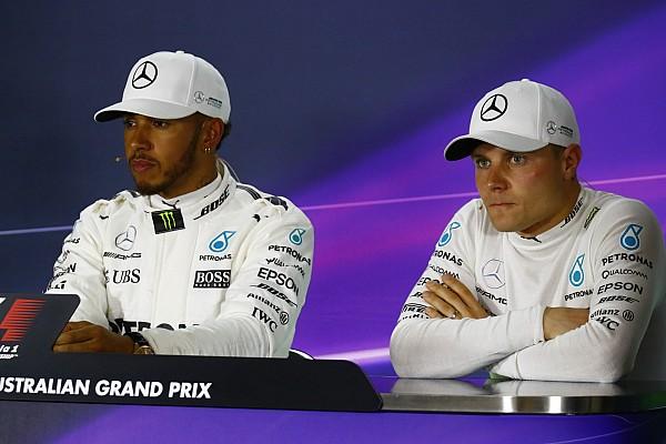 Forma-1 BRÉKING Hamilton beszólt Rosbergnek, és viccelődött Bottassal