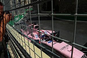 Формула 1 Новость Перес предложил изменить поребрик в восьмом повороте
