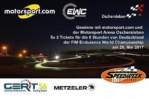 FIM Endurance Motorsport.com-News Gewinnspiel: Wir verlosen 5x 2 Tickets für die German Speedweek Oschersleben!