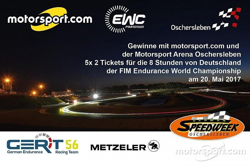 Gewinnspiel: Wir verlosen 5x 2 Tickets für die German Speedweek Oschersleben!