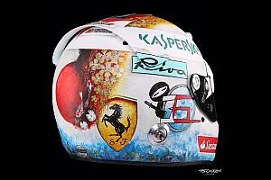 Fotogallery: ecco il casco di Vettel per il GP del Giappone 2017