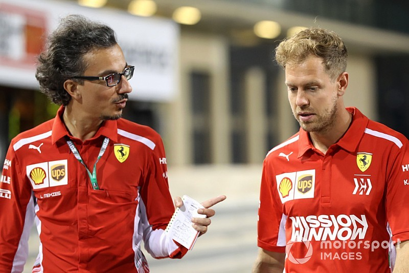 Mekies starts work as Ferrari sporting director