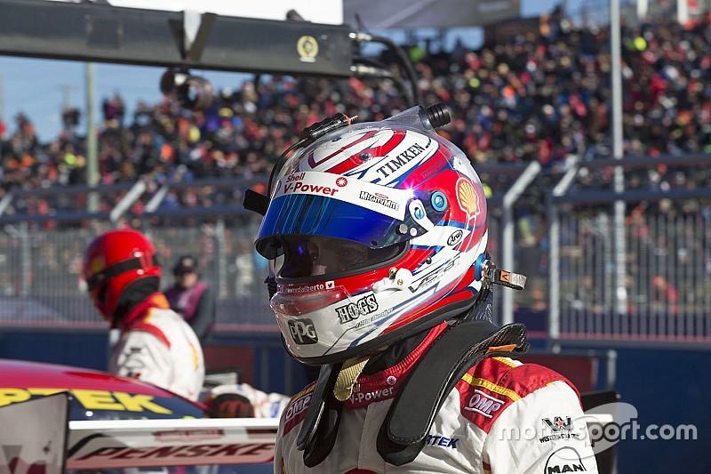 Penske driver's Bathurst podium helmet stolen