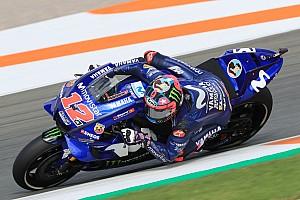 MotoGP-Test Valencia: Bestzeit für Vinales, mehrere Fahrer stürzen