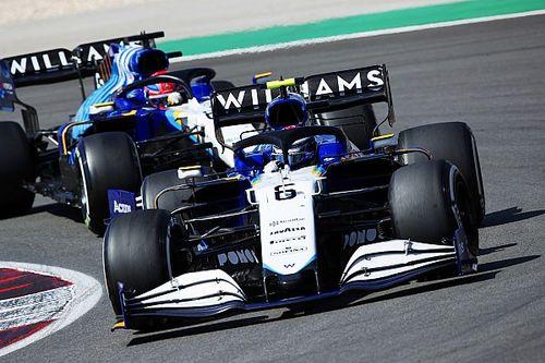 Williams stopt op korte termijn doorontwikkeling FW43B