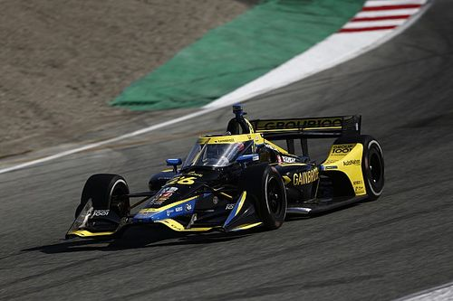 Herta expects IndyCar drivers to struggle with tires at Laguna Seca