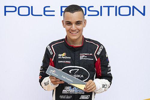 Alessandro Giardelli a Monza per la Porsche Supercup