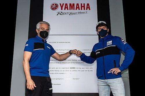 Gerloff, 2022'de Yamaha ile Superbike'ta yarışmaya devam edecek