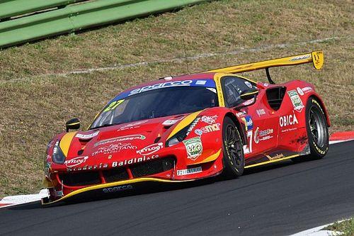 GT Endurance, Vallelunga: Ferrari in Pole con la Scuderia Baldini