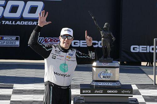 NASCAR Talladega: Keselowski wins last-lap thriller