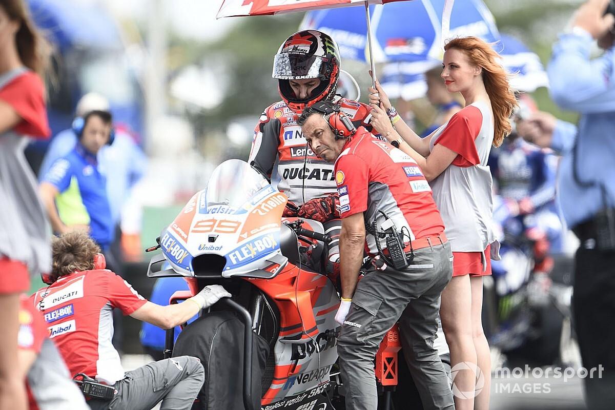 """Lorenzo: """"Lo que estoy aprendiendo con la Ducati me ayudará en el futuro"""""""