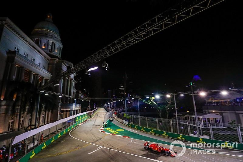 【動画】F1第15戦シンガポールGPフリー走行2回目ハイライト