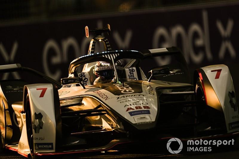 Santiago E-Prix: Lopez tops practice for Dragon