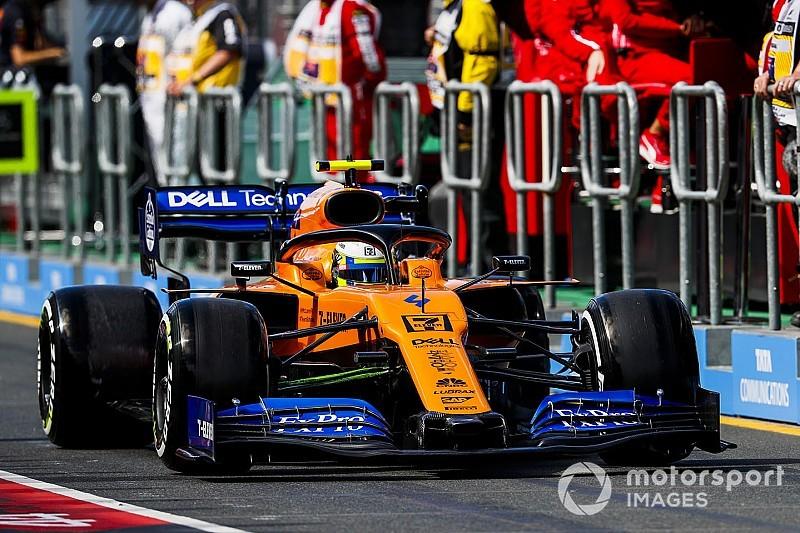 McLaren: Norris multato di 5000 euro per unsafe release nel corso delle Libere 3
