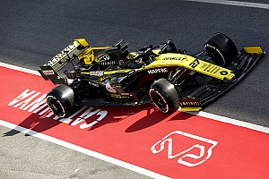 Renault ya revela mejoras en el primer día de pruebas