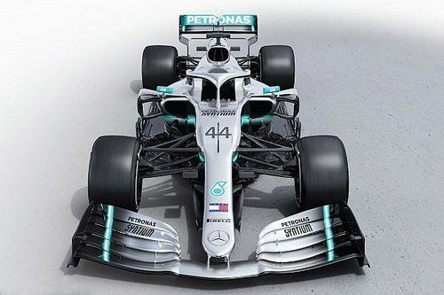 Mercedes toont nieuwe Formule 1-bolide voor seizoen 2019