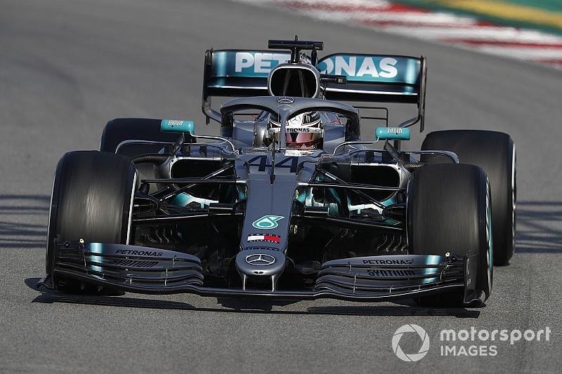 Hamilton tiene pocas cosas buenas que decir de los Pirelli 2019